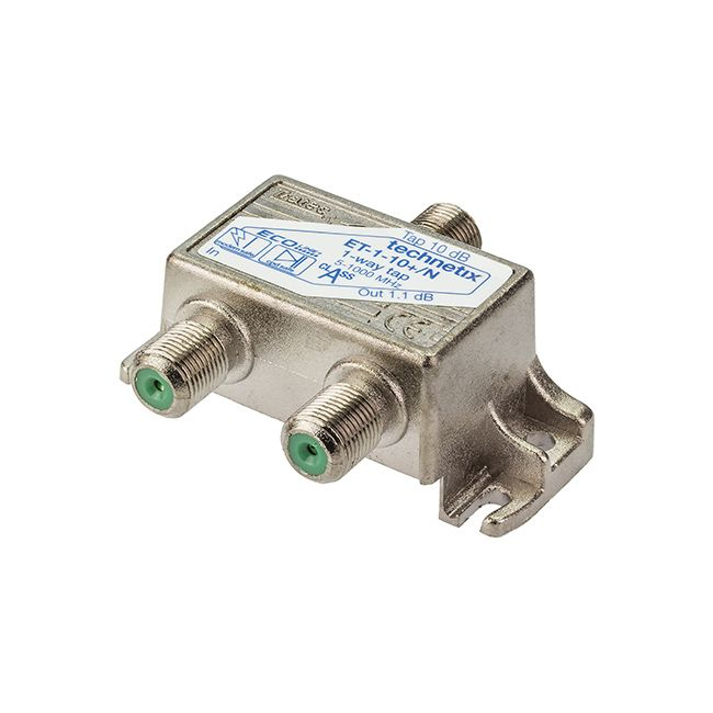 1-way 1 GHz 10 dB Ecoline-series tap