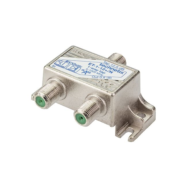 1-way 1 GHz 12 dB Ecoline-series tap