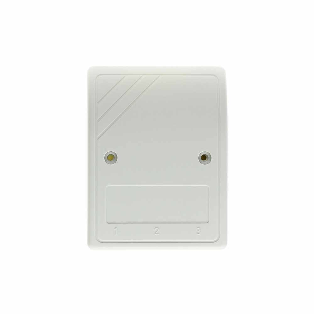 TSA-series white wall outlet cover