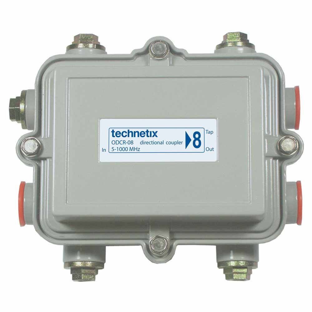1 GHz 8 dB Regal-style outdoor directional coupler