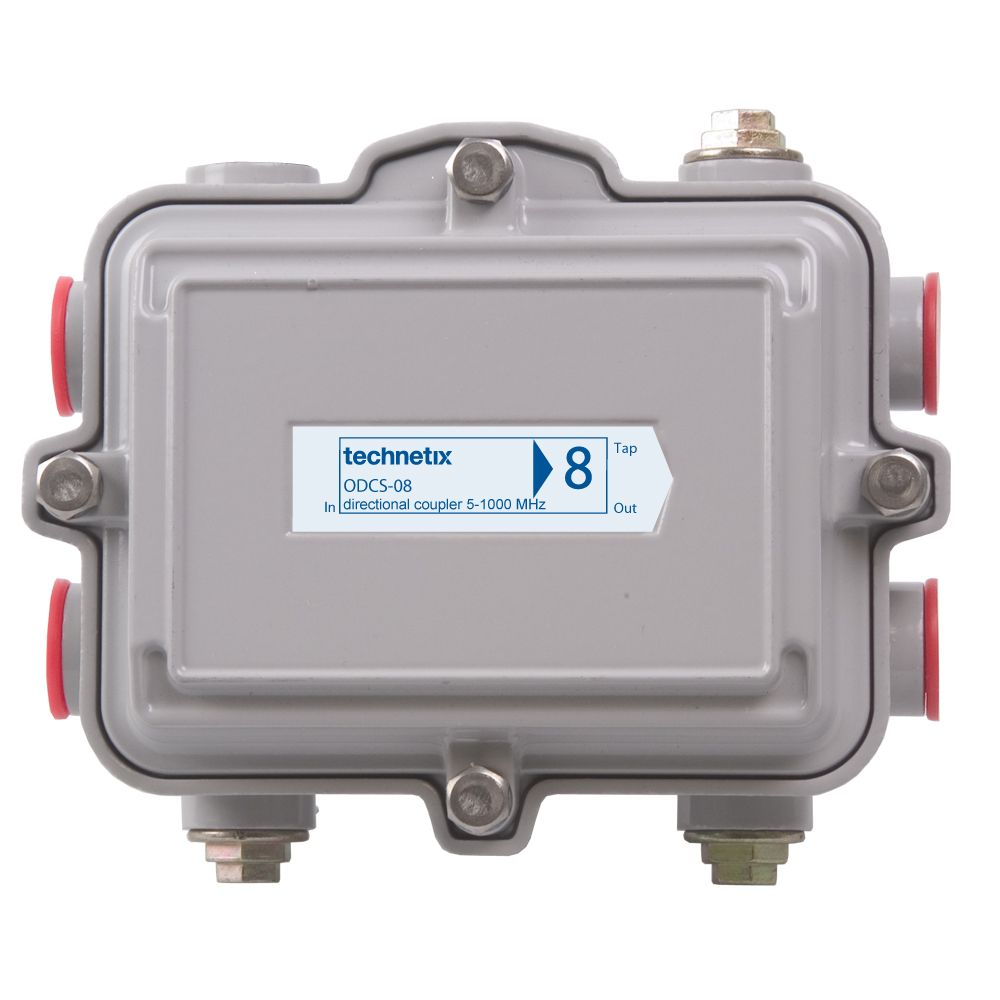 1 GHz 8 dB SA-style outdoor directional coupler