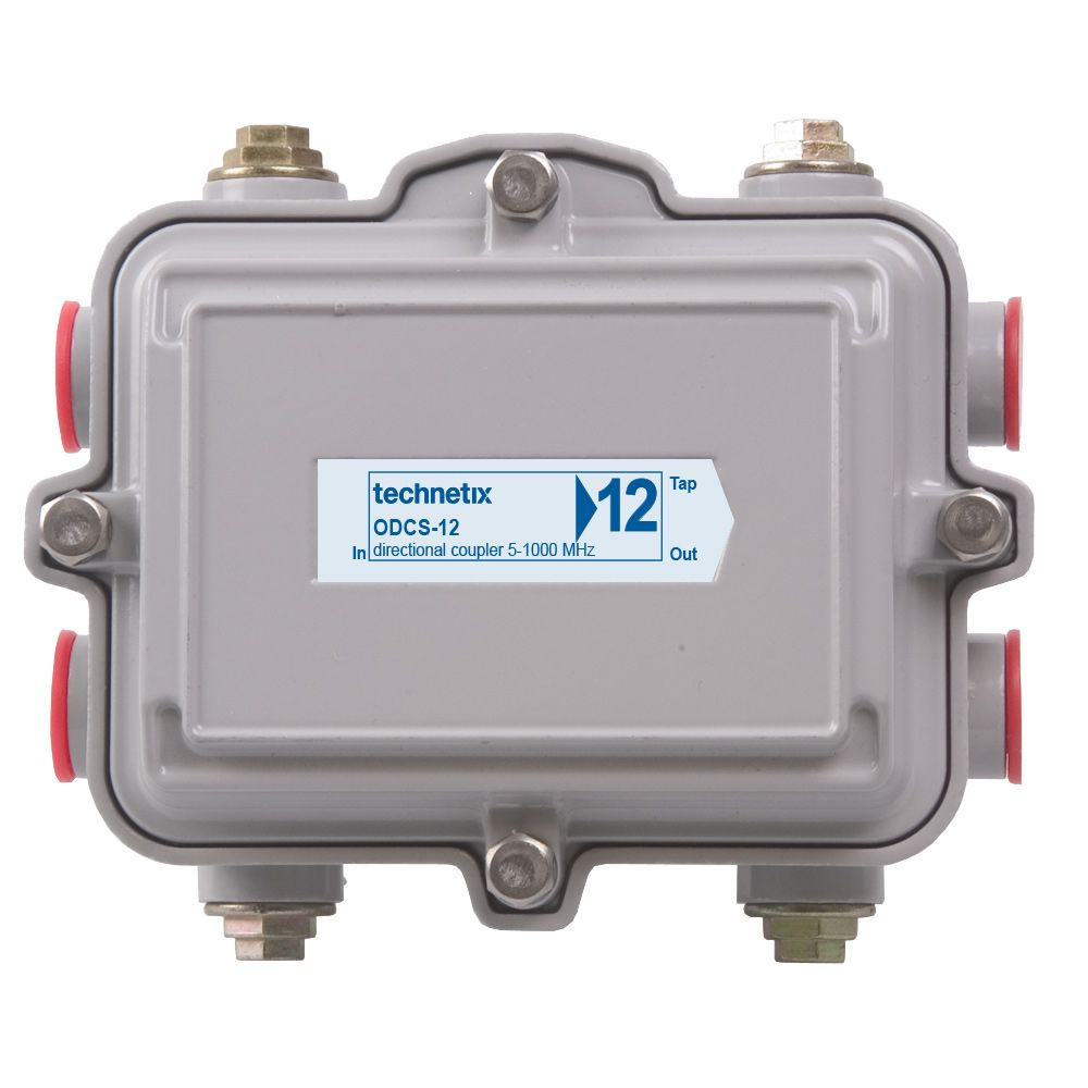 1 GHz 12 dB SA-style outdoor directional coupler