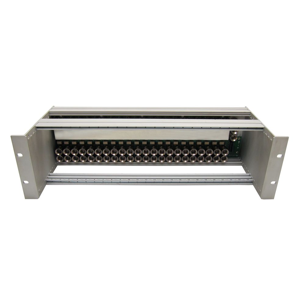 19-inch 3U 100mm NCI-series rack with backplane for NCI modules