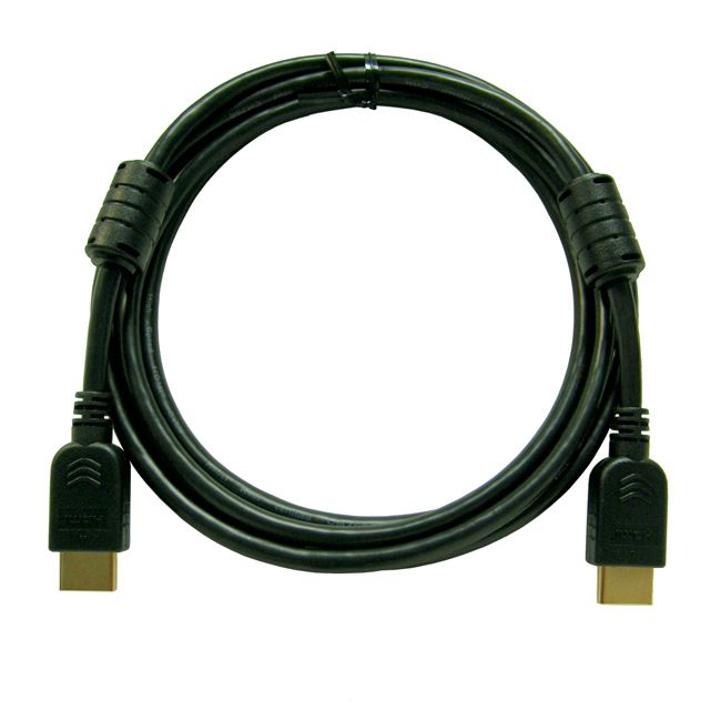2-metre Brilliantline-series black HDMI cable