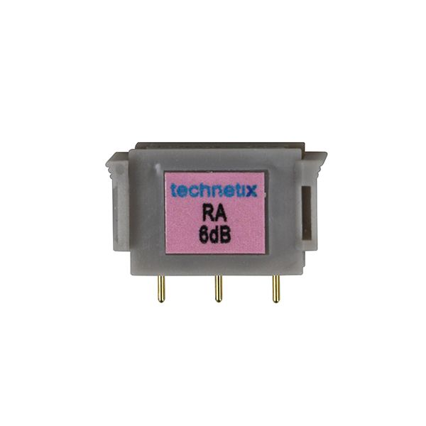 1 GHz 4 dB Motorola-style return attenuator conditioning plug-in