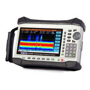 Deviser DS2800 handheld digital TV spectrum analyser spectrum persistence technology option
