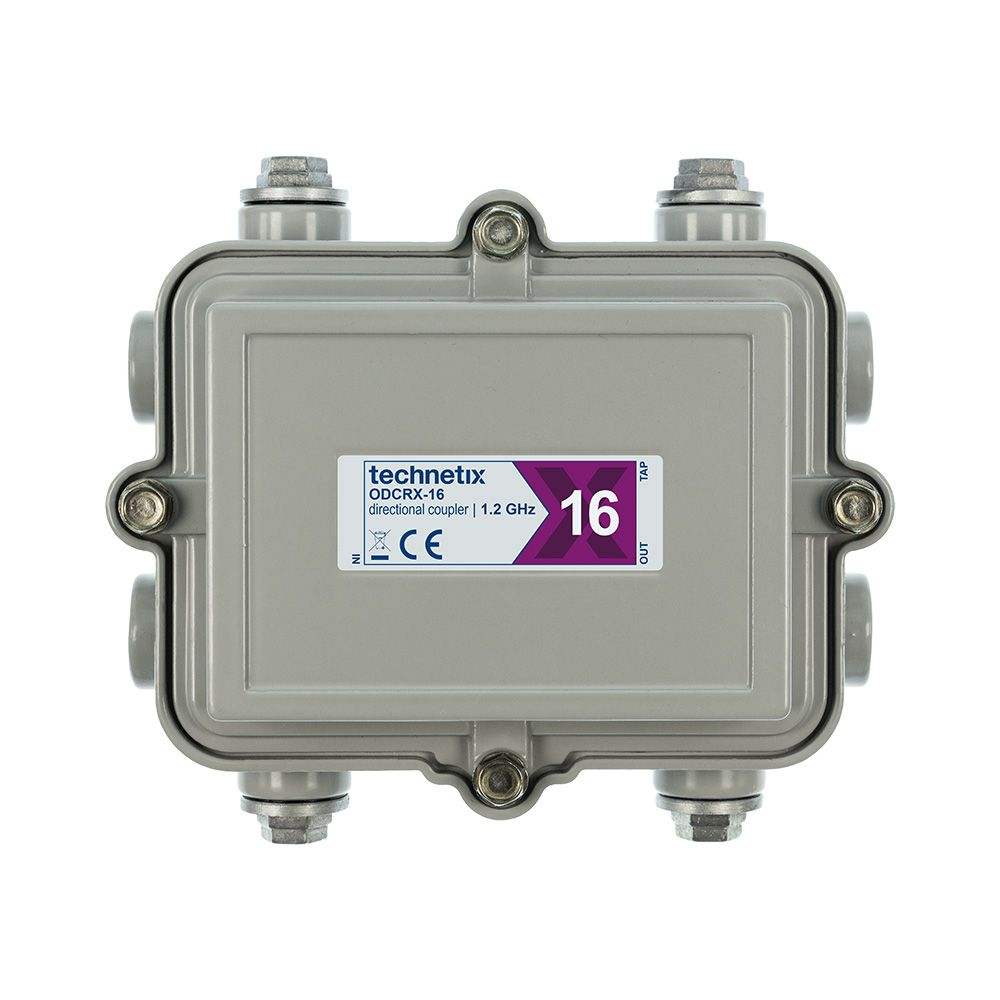 1.2 GHz 16 dB Regal-style outdoor directional coupler