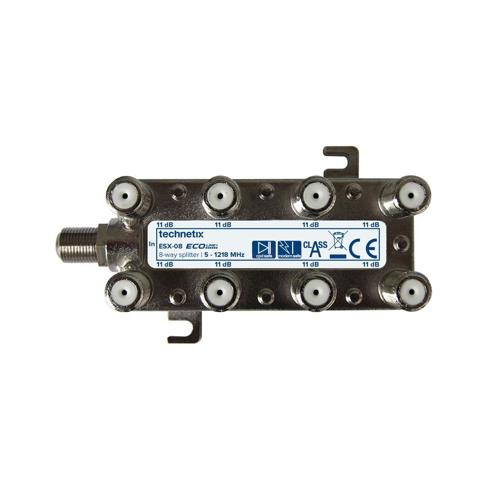 8-way 1.2 GHz Ecoline-series splitter