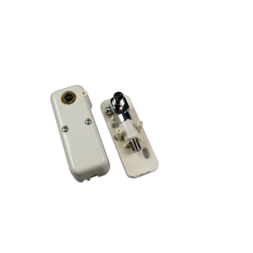 Single-output 2 GHz TRIS-series double galvanic isolator with grounding block