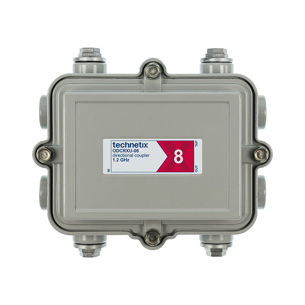 1.2 GHz 8 dB Regal-style outdoor directional coupler