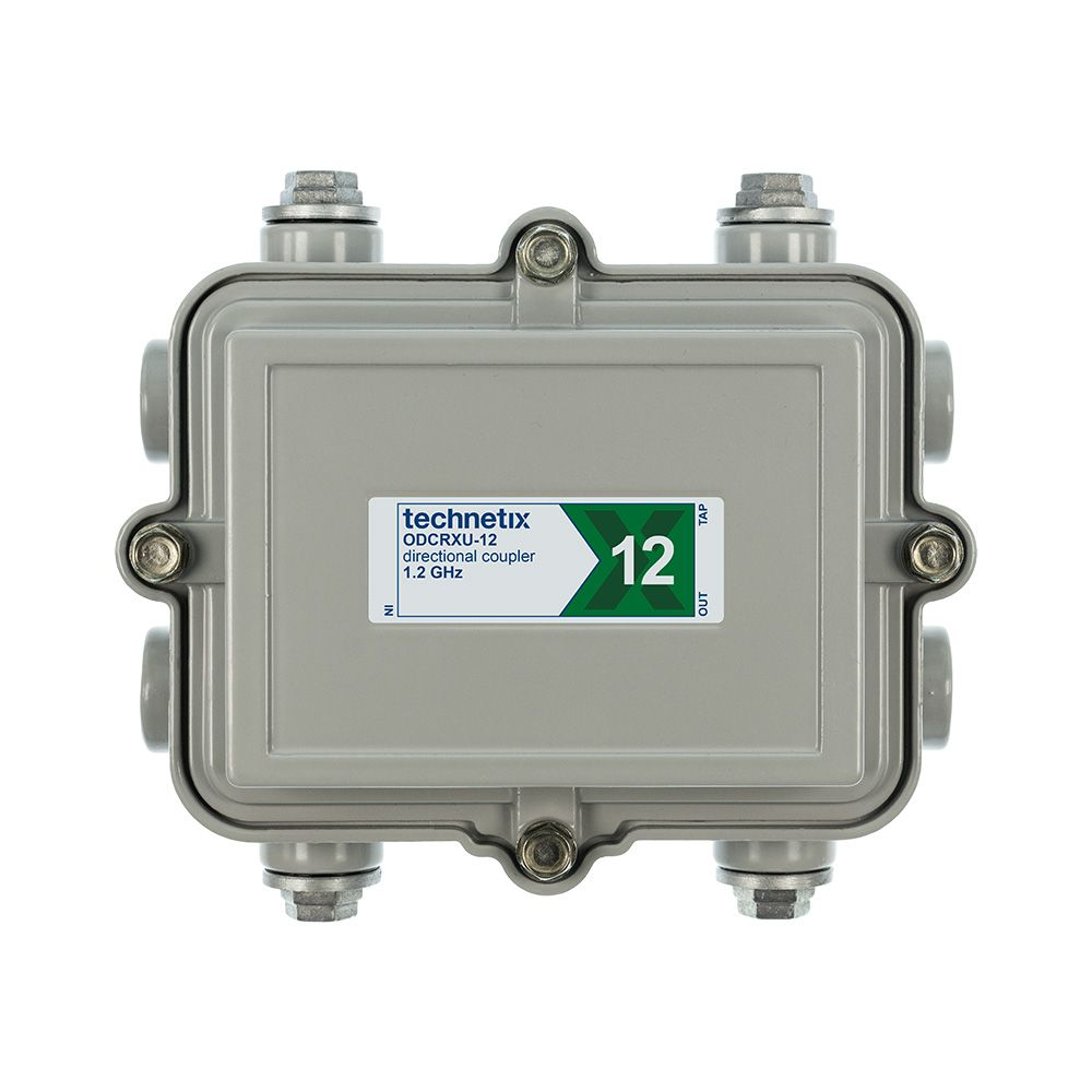 1.2 GHz 12 dB Regal-style outdoor directional coupler