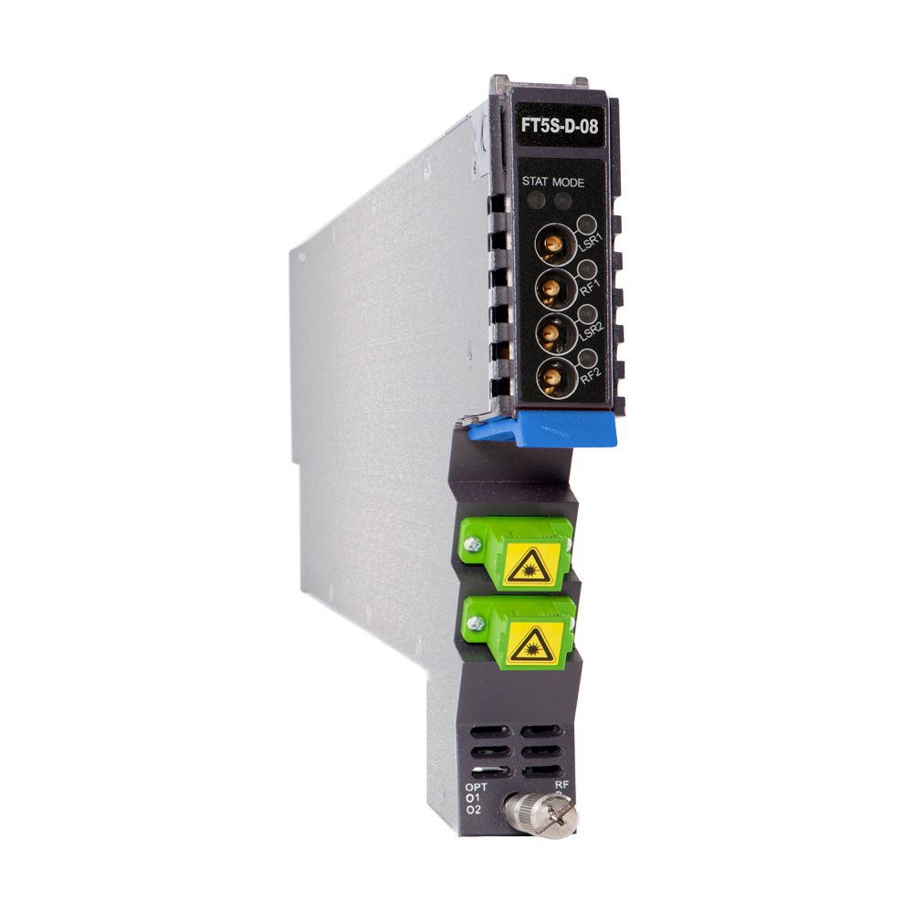 1.2 GHz 10 dBm AIMA-series 1550 nm dual LC/APC forward transmitter