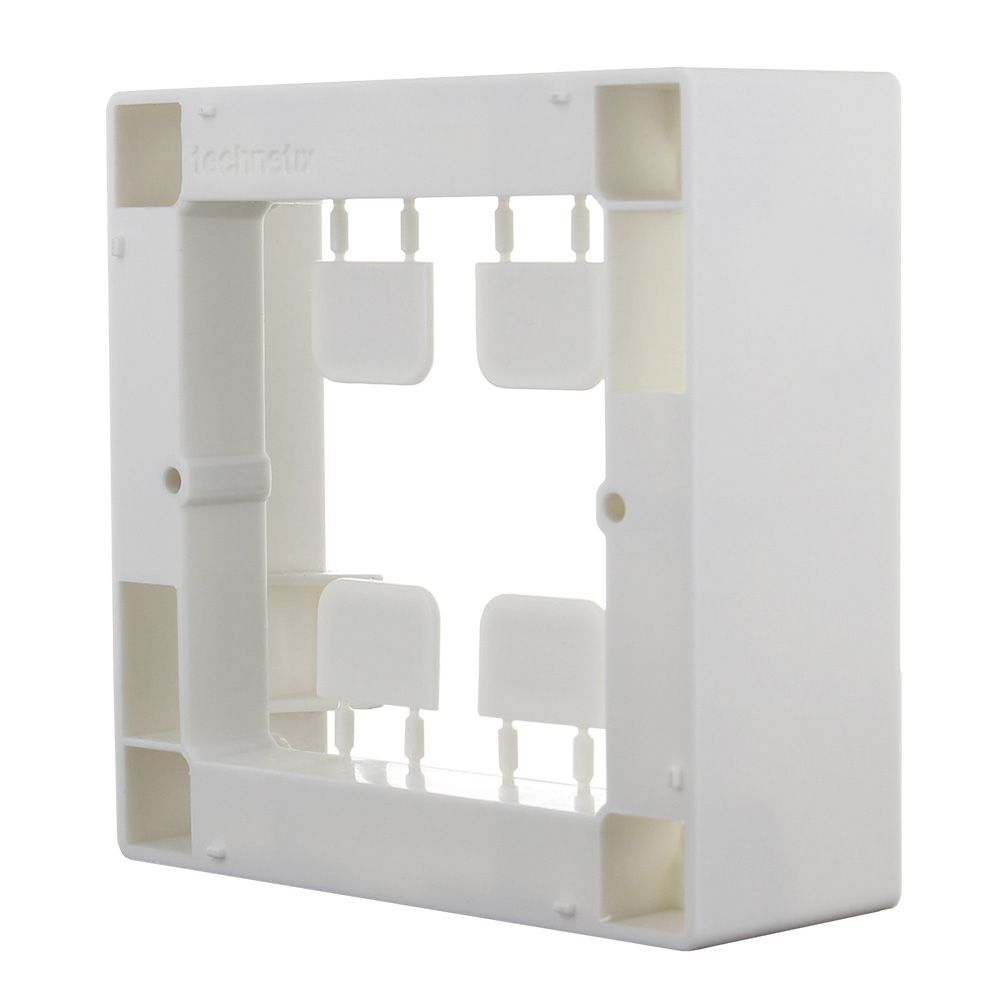 Click50 back box for EU and CH 80x80 mm (pure white)