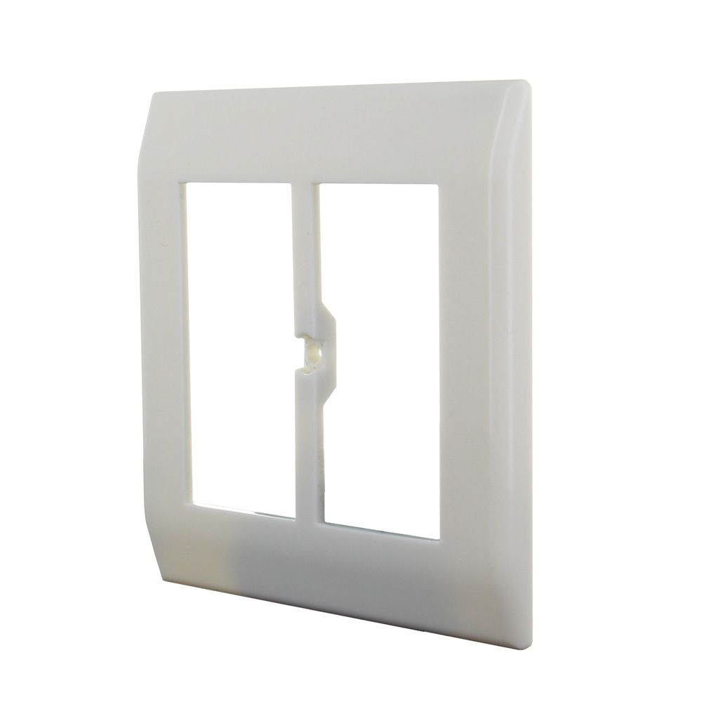 Click50 cover/faceplate for CH 80x80 mm (pure white)