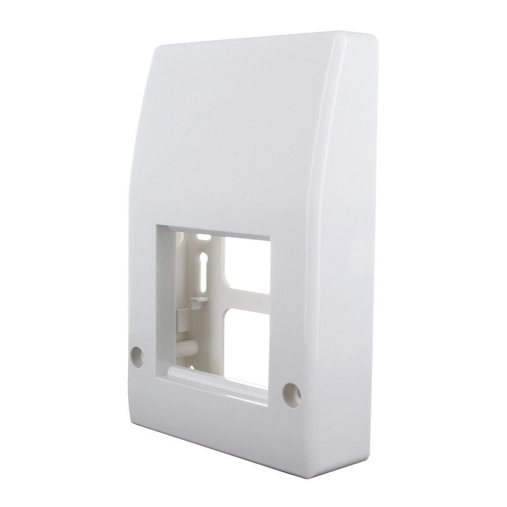 Click50 extended integrated faceplate (signal white)