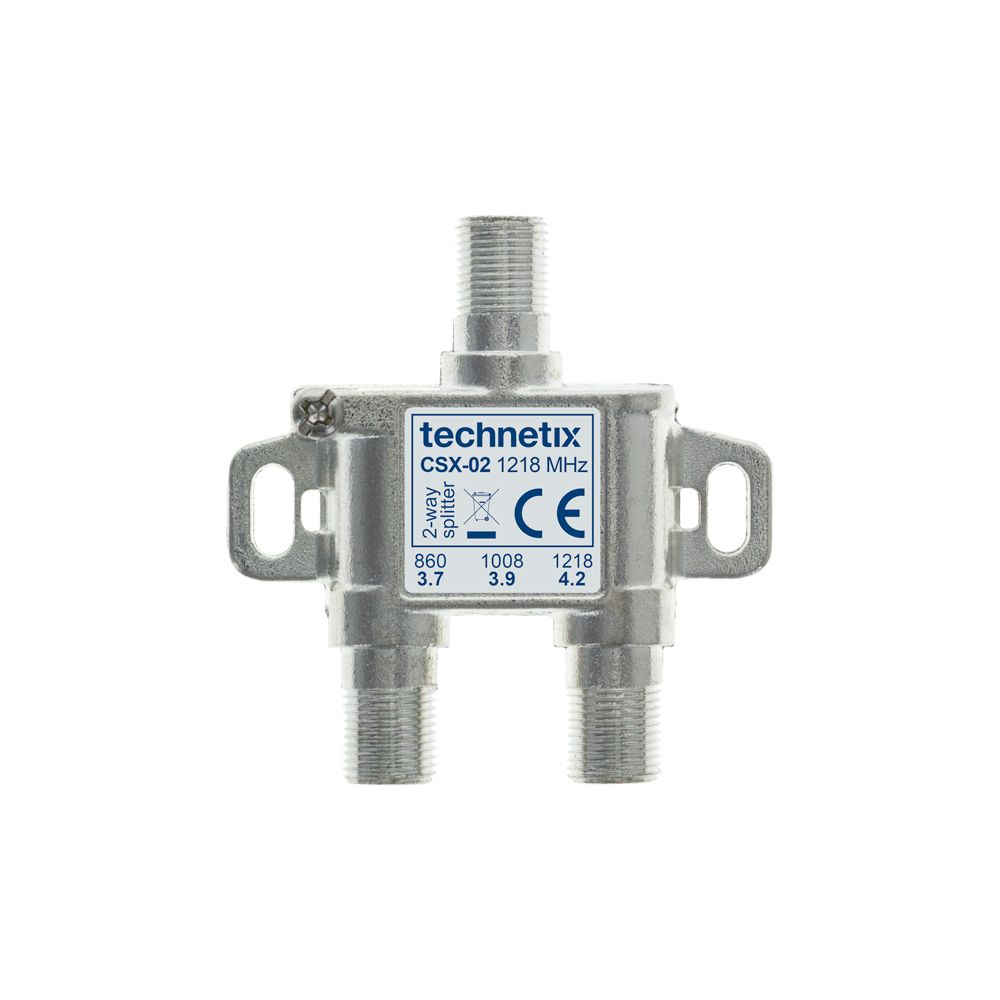 2-way 1.2 GHz Core-series in-line splitter