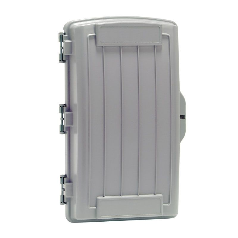 BOX; CG-2000 NO LOGO - GRAY PREMISE 13.0H X 9.0W X 3.0D INCHES - ABS/PVC BLEND - UL LISTED