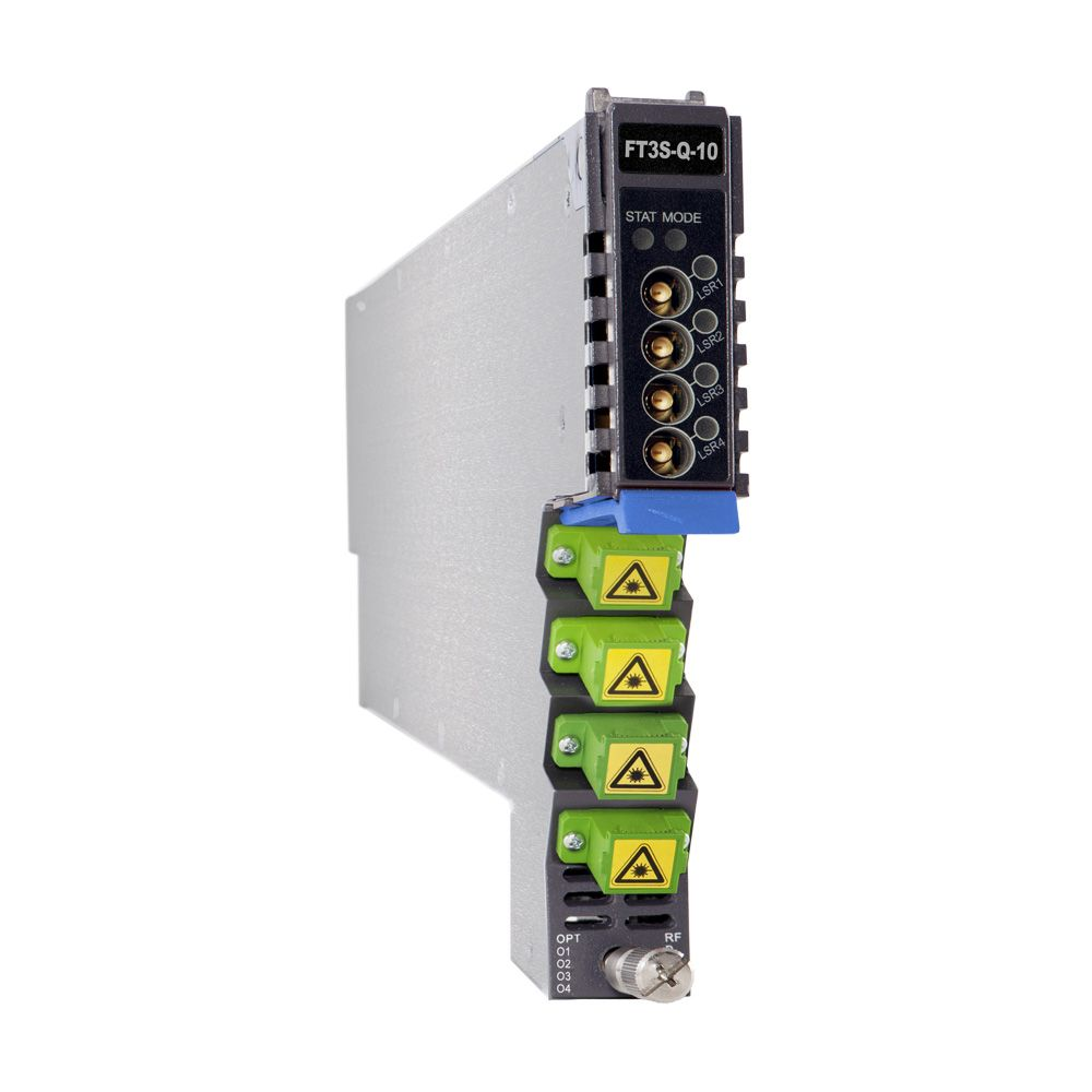 1.2 GHz 4 dBm AIMA-series 1310 nm quad SC/APC forward transmitter