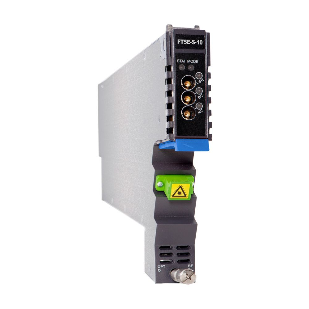 1.2 GHz 10 dBm AIMA-series 1550 nm dual SC/APC enhanced forward transmitter