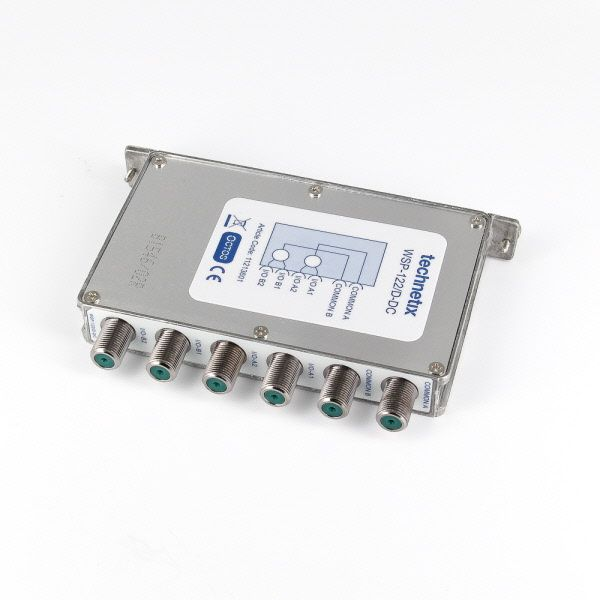 2-way 1 GHz Octos-series headend wideband splitter