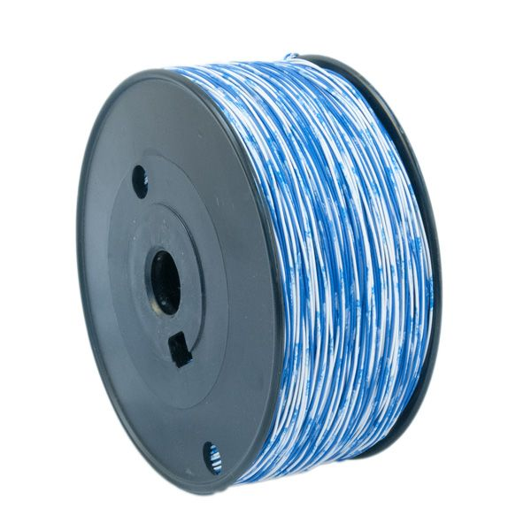 WIRE; 01PR CROSS CONNECT 24 AWG BLUE/WHITE