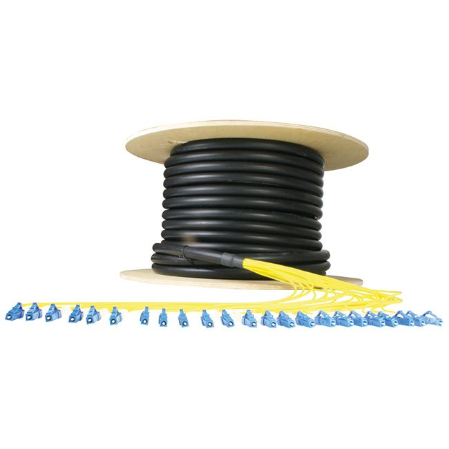 Multifibre full breakout cable assemblies