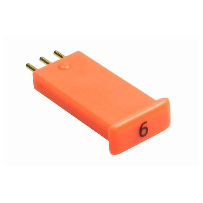 1-inch 20 dB JXP orange attenuator