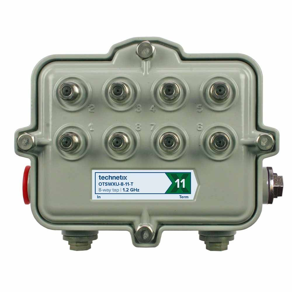 8-way 1.2 GHz 32 dB SA-style wide body outdoor tap