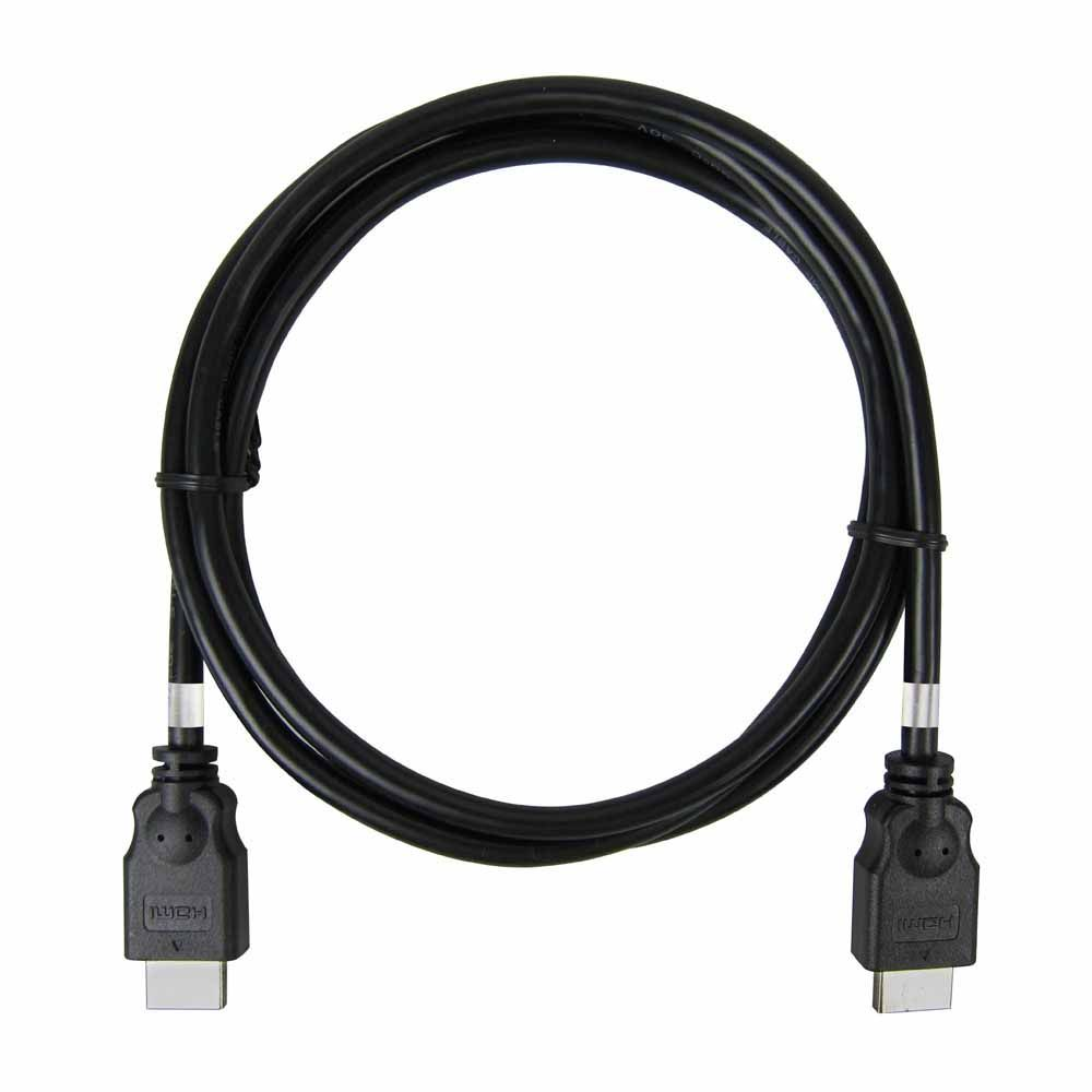 1.5-meter high speed black HDMI cable without ethernet