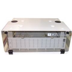 PANEL; CON072P FIBER TERMINATION PATCH PANEL WHITE EMPTY 118 LGX