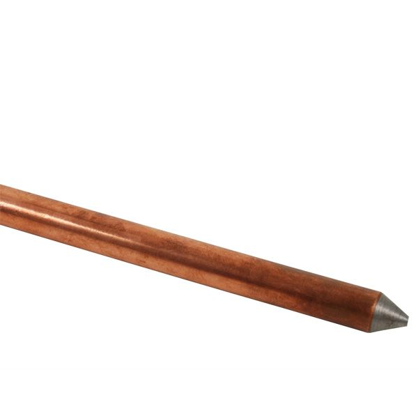 ROD; GROUND 5/8 INCH X 8 FT COPPER BONDED UL LISTED