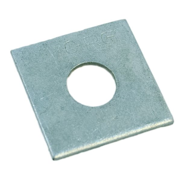 WASHER; SQUARE 2 X 1/8 INCH FOR 5/8 INCH BOLT