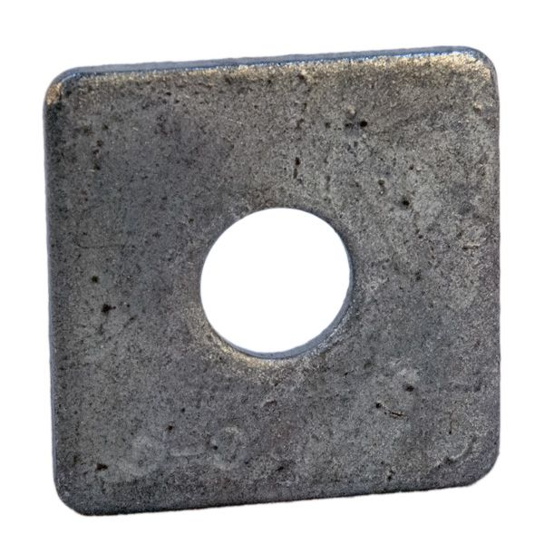WASHER; SQUARE 2-1/4 X 3/16 INCH FOR 5/8 INCH BOLT