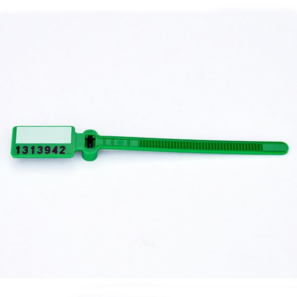 MARKER; SERIALIZED CONTROL WRITE-ON TYPE / GREEN / 100/PK