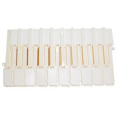 MARKER; SERVICE ID WRITE-ON TYPE IVORY 100/PKG