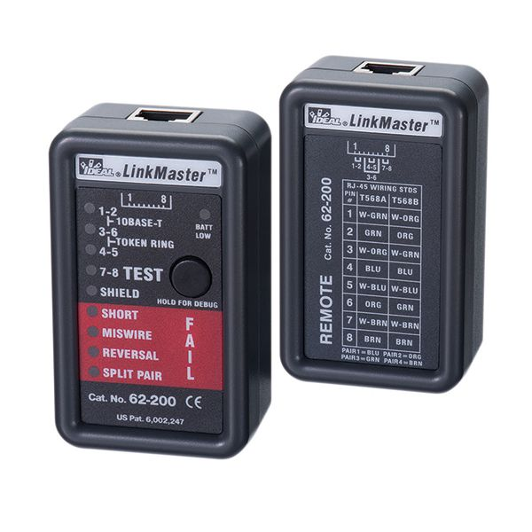 TESTER; CAT 5 CABLE TESTER