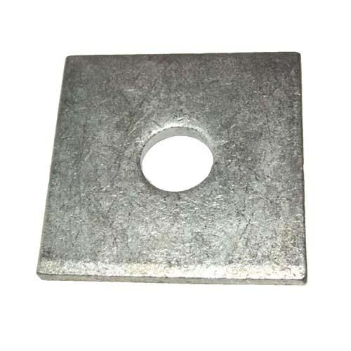 WASHER; SQUARE 2X2 X 1/8 INCH FOR 5/8 INCH BOLT