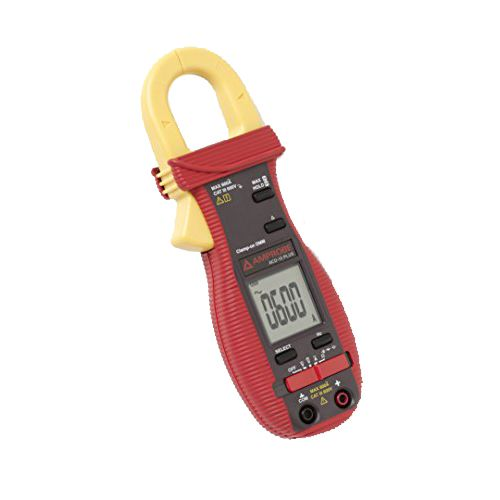 MULTIMETER; 600V TRMS SNAPJAW MULTIMETER AC & DC VOLTAGE TO 600V AC CURRENT TO 600A  AUTO POWER OFF  INCLUDES TEST LEADS  SOFT CARRYING POUCH AND USERS MANUAL