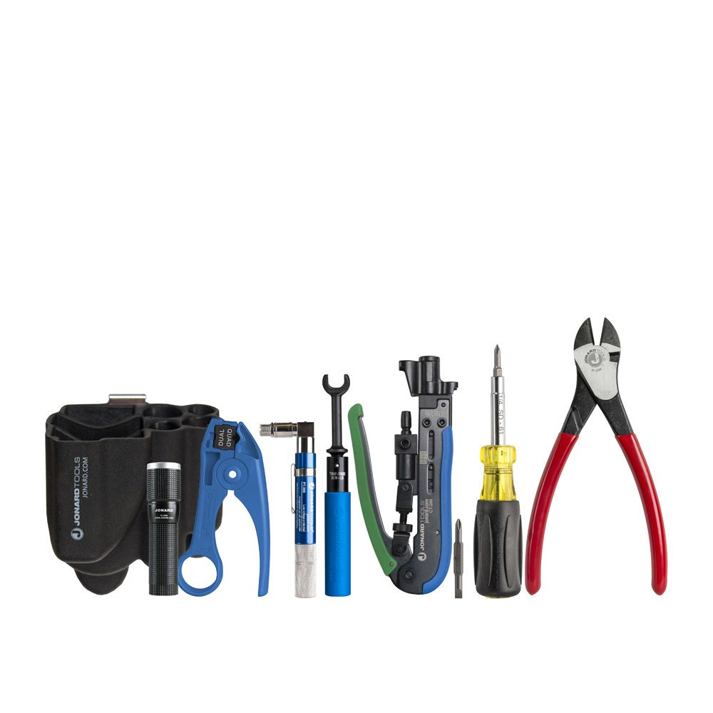 KIT; COAX MINI CONNECTOR TOOL INCLUDES CT-200, SD-61, UST-185, FL-2000, PT-300, JIC-2288, TWAF-71630, AND H-85